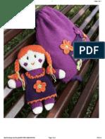 Amiguri Doll Poupee_ 2 Phildar Francais