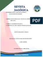Revista Pedagogica Unidad I
