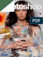 Membuat Efek 2 Warna Dalam 1 Text Di Photoshop