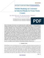 Research Paper Effect of Mobile Banking on Customer-823