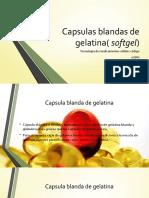 Capsulas Blandas de Gelatina( Softgel)