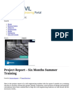 Summer 1 Project Report