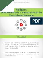 Fundamentos de la Satisfacción de las Necesidades Humanas