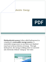 Hydroelectric Energy Spring2016