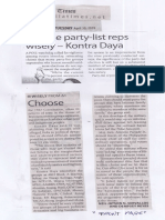 Manila Times, Apr. 30, 2019, Choose party-list reps wisely-Kontra Daya.pdf