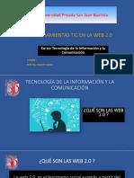 Herramientas TIC en La Web 2.0
