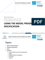 USING THE MODEL PROGRESSION SPECIFICATION