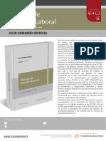 Nueva Edicion Manual de Derecho Laboral (Grisolia) 2019