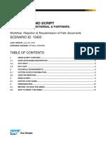15450 S4HANA Workflow Rejection Park Documents v1.0