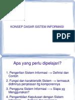 Bab 1 Konsep Dasar Sistem Informasi