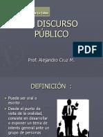 El Discurso Público