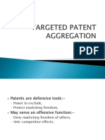 Targeted Patent Aggregation