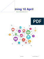 Training 10 April