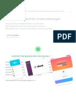 Online-Zahlungsabwicklung für Internet-Unternehmen – Stripe