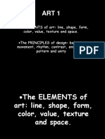 2. Elements and Principle of Art