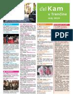 KAM v Trenčíne - máj 2019
