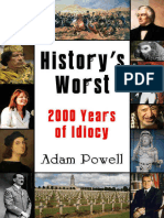 History's Worst 2000 Years of Idiocy