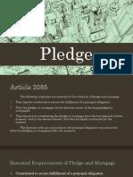 powerpoint report pledge