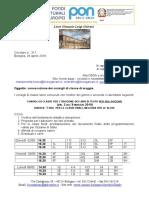 Circolare 317 -Consigli Di Classe Maggio 2019