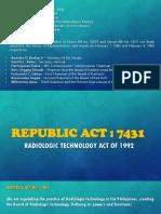 Republic Act 7431