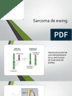sarcoma de ewing