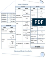 Formulario Conceptos de Física