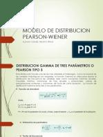 Modelo de Distribucion Pearson Wiener
