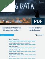 The Value of Open Data Softelligence