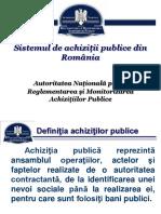 Sistemul de Achizitii Publice