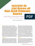 Concrete in Coastal Areas of Hot-Arid Climate Zones