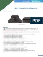 H3C S5130S-EI Next Generation Intelligent GE Switch Datasheet
