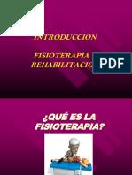 Clase Intro Fisioterapia y Rehabilitacion