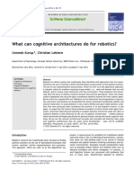 What Can Cognitive Architectures Do f 2012 Biologically Inspired Cognitive A