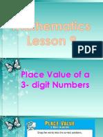 Math Lesson 9