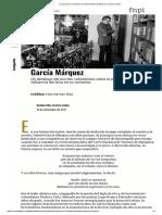 García Márquez- Declaraciones Sobre Poesía