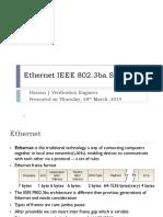 20190328_Ethernet IEEE 802.3ba Standard