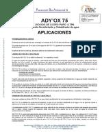 Adyox 75 Ft Aplicaciones V1 250413