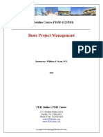 Basic Project Management - Module 1