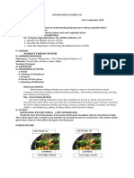 Lesson Plan in Cookery 10 Cooking Methods of Vegetable Dishes