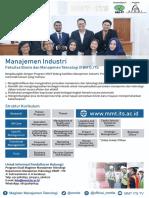 Brosur Manajemen Industri