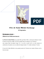 Exorcisme par l'archange saint Michel