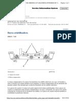 Barra escualizadora D11R