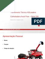 Treinamento Colhetedeira Case AF230