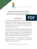 Constitución provincial marco teórico