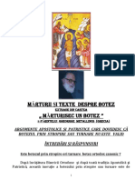 ARGUMENTE APOSTOLICE SI PATRISTICE CARE DOVEDESC  CĂ BOTEZUL PRIN STROPIRE sau turnare NU ESTE VALID.pdf