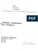 Qatar Gen Conditions of Contract