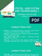 ITEC50 Lesson 1