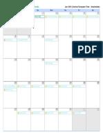 Jadwal Kegiatan KMD