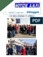 Bollettino ANPI Chioggia n. 46, 30 aprile 2019
