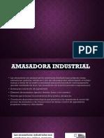 Amasadoras industriales